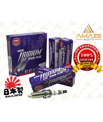 NGK Iridium DF Spark Plug for Perodua Bezza 1.3